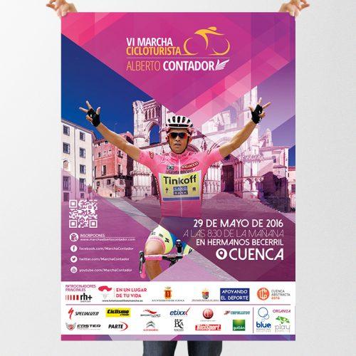 Marcha Alberto Contador 2016